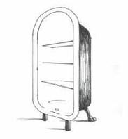Esta estanteria puede usarse para libros u otras utilidades ,iria con tres o cuatro bladas ,eso a gusto d